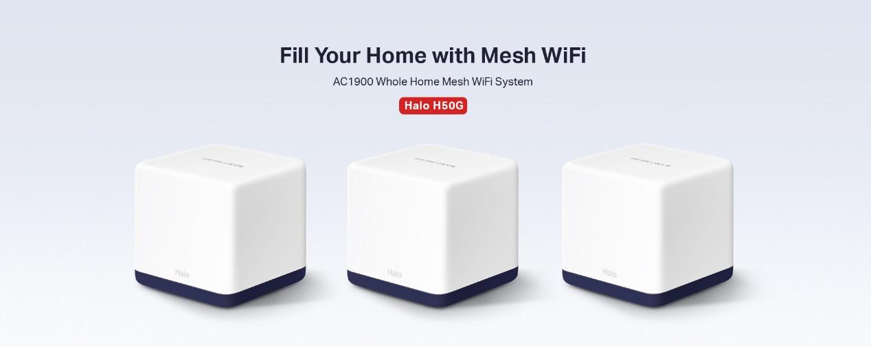 MERCUSYS Mesh WiFi-Halo H50G
